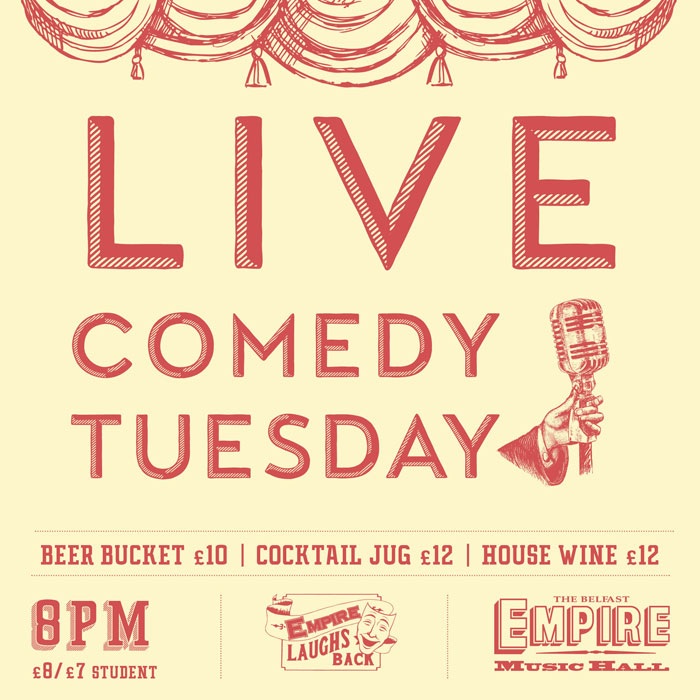 Live Comedy Tuesday Offers