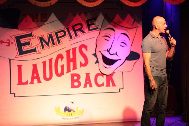 Comedy Club Empire Laughs Back